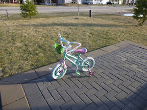 """New 12"""" Supercycle Kids Bike Pixie Dust - 5 Rides Old $45"""