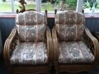 Ratten cane conservatory furniture