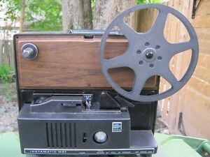 8 mm Bell & Howell movie projector