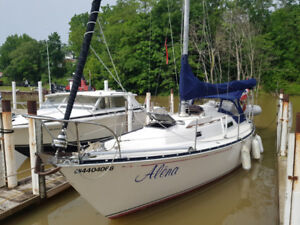 C and C 30 Ft MK 1 sailboat for sale.