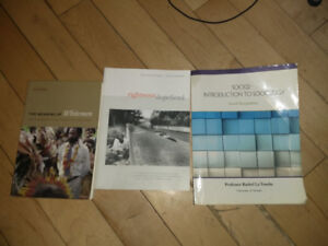 SOC102H1, ANT204H1 Textbooks For Sale