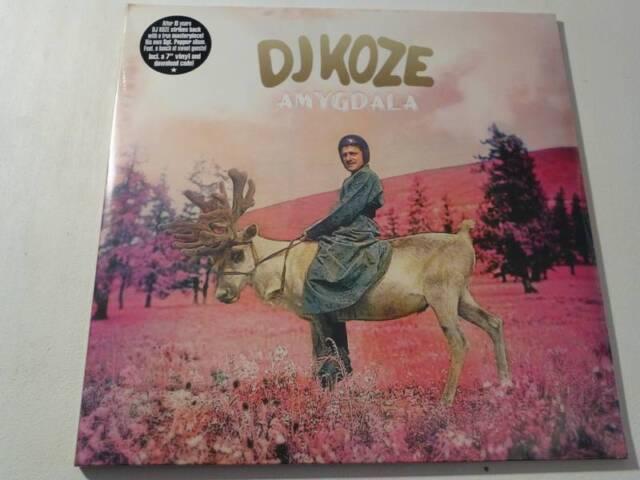 """DJ KOZE - Amygdala **LTD Vinyl-2LP + 7""""-Vinyl + MP3** (Caribou, Apparat) **"""