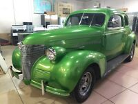 Chevrolet Deluxe 1939 rare antique hot rod