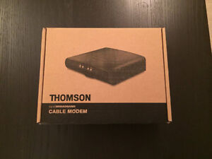 Thomson Technicolor DCM476 Cable Modem •	Condition: excellent •