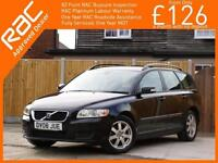 2008 Volvo V50 2.0 Turbo Diesel S 6 Speed Estate Bluetooth Climate Control Just