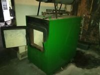 Used Green Wood Indoor Wood Hydronic Furnace