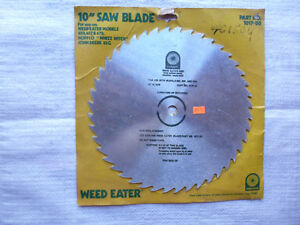 New Weed Eater Blade
