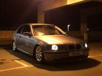 BMW e46 3series 1.8 1 years mot