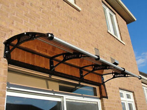 Polycarbonate Awning Canopy for door,window,Patio,porch,aluminum Kingston Kingston Area image 4