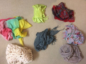 7 different scarves to sell