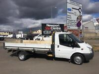 "Ford Transit 2.2TDCi 125PS RWD LONG WHEEL BASE 13""6 BED DROPSIDE NO VAT !!"