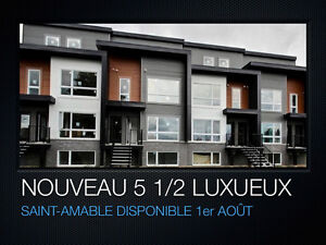 Condo a louer st-amable 2étages neuf
