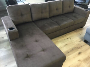 Small 4 Seater with Chaise