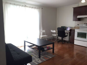 Sublet a clean apartment 31/2in a convenient location