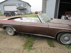 1973 olds convertable to trade for great riding mower 1999 value