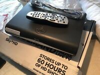 Sky+ HD satellite receiver box + Remote