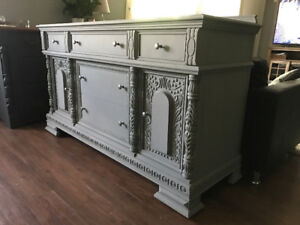 STUNNING Antique Buffet/Sideboard/Console - Must See