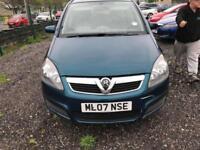 Vauxhall Zafira 1.6i 16v Life 7 SEATER - 2007 07-REG - FULL 12 MONTHS MOT