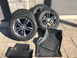 Mag et pneus d'hiver pour Audi Q5