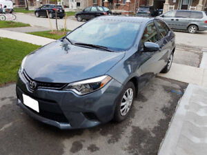 2015 TOYOTA COROLLA L | CLEAN TITLE + MANUAL TRANS + NO ISSUES