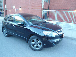 2007 ACURA RDX TURBO SH-AWD , LEATHER , SUNROOF , ALLOYS !!!