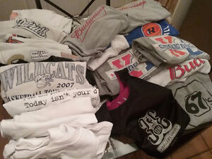 20 men's XL t shirts various conditions  $20 takes all