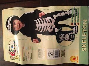 Halloween costume infant Skeleton
