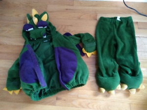 Old Navy Dragon Costume - Size 2T-3T
