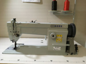 Leather and denim industrial sewing machine