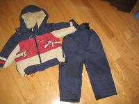 Ensemble de neige 2-3 ans garçon