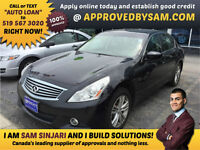 G37x AWD Responsive, Communicative, & Fun-to-Drive Sport Sedan.