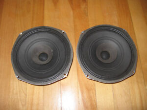 "Vintage 8"" RSC (Radio Speakers of Canada) Car Audio Speakers"