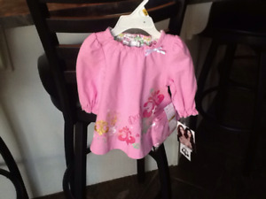 Dereon 2pc Set / 0-6m / Pink / BNWT