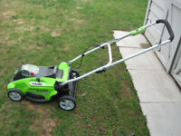 Greenworks Lithium 40V Electric Lawnmower