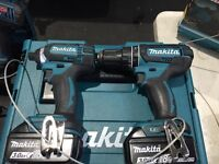Makita 18v impact and drill