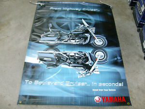 YAMAHA TOUR DELUXE PROMOTIONAL BANNER