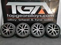 """17"""" Genuine VW CADDY Canyon Alloy Wheels & Tyres"""