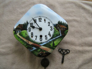 Antique kitchen wall clock