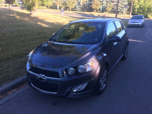 2013 Chevrolet Sonic RS EXTENDED WARRANTY loaded with extras