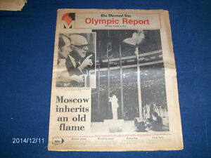 THE MONTREAL STAR OLYMPIC REPORT-08/02/1976-TRUDEAU-DRAPEAU