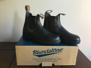 Brand new Blundstones, never worn. Stout brown