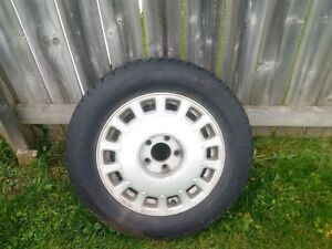 Snow tires with rims Kitchener / Waterloo Kitchener Area image 4