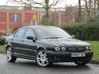 Jaguar X-TYPE 2.0D Saloon 2007MY Sport Diesel Black..**NEEDS FUEL PUMP**