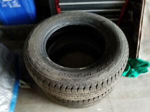 255 65 18 Bridgestone Dueler 90% tread / 2 in stock $80 each