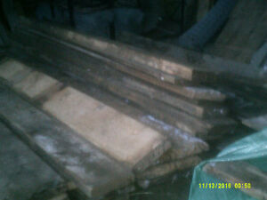 """REDUCED TO CLEAR  2"""" to 3"""" THICK THRESHING(FLOOR) BOARD Peterborough Peterborough Area image 3"""