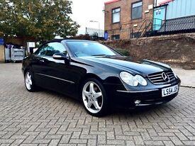 Mercedes Convertable CLK 320 ,Excellent condition ,FSH,Hpi clear
