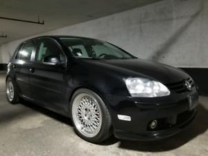 2007 Volkswagen Rabbbit with 2 sets of winter tires