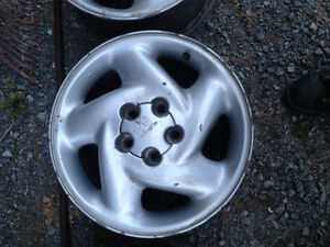 "16"" suburu alloy wheels 5x4.5"