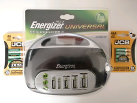 Energizer Battery Charger + Batteries £15 NEW