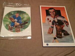 Leafs + Goalie hockey Prints Sticks Bobblehead Coin Pin Puck